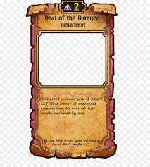 Trading Card Design Scrolls World Of Warcraft Trading Card Game Lord Of Vermilion