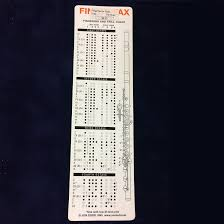 Fingerfax Flute Fingering Trill Chart Bookmark