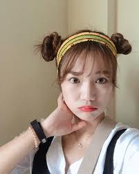 韓国の定番アイドルにも大人気簡単可愛いヘアアレンジ머리