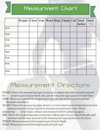 Fitness Measurement Templates At Allbusinesstemplates Com