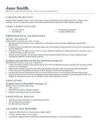 Simple Objectives For Resume Job Resume Objective Sample Job Resume