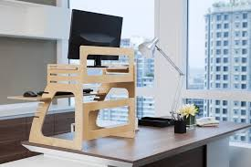 adjustable standing desk office. image of plywood adjustable standing desk converter office