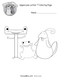 Cute Uppercase Letter S Coloring Page (Free Printable) - Doozy Moo