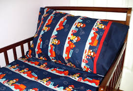 decoration fire truck crib bedding set toddler fitted sheet amazing geenny