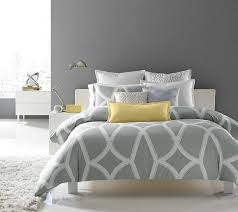 interior grey white and yellow bedding excellent black pink damask
