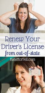 How To Renew Your Drivers License From Out Of State