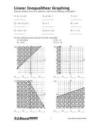 free collection of 40 graphing linear equations in two variables worksheet