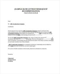 Free 89 Recommendation Letter Examples Samples In Doc