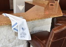 Kitchen Towel Hanging Martini Embroidered Kitchen Dish And Tea Towel With Two Bold