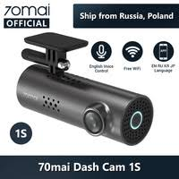 English Voice Control <b>70mai Car DVR</b> Cam <b>1S</b> 1080HD <b>70mai</b>...