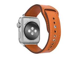 tensea leather band compatible with apple watch band 42mm 44mm premium genuine leather straps replacement