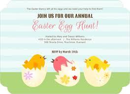 Cute Easter Egg Hunt Invite
