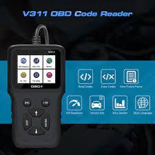 V311 OBD2 kod okuyucu tarama aracı OBDII / EOBD okuma/açık hata kodu OBD 2  OBD2 araç teşhis tarayıcı otomatik aracı VS ELM327 V1.5|Code Readers & Scan  Tools