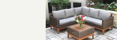 Outdoor sofa furniture Aluminum Shop Patio Furniture Safaviehcom Outdoor Furniture Patio Furniture Sets Outdoor Décor Cooking