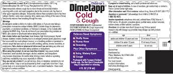 Childrens Dimetapp Cold And Cough Liquid Richmond Division