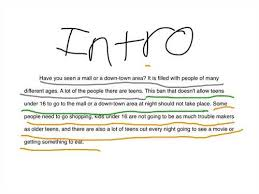 writing introductory paragraphs in