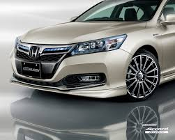 Honda Accord Hybrid by Mugen - bodykit, sports suspension offered