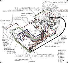 1987 Mazda B2000 Vacuum Hose Diagram
