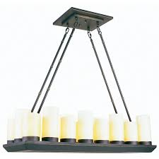 allen roth harpwell 25 in 9 light oil rubbed bronze chandelier modern