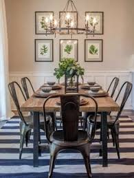 fixer upper a contemporary update for a family sized house metal kitchen chairsmetal farmhouseblack metal rustic dining roomsindustrial
