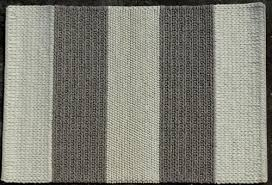 white gray hand woven flat weave braided wool rug size 120x180cm