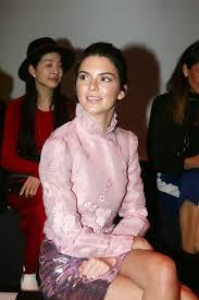 Kendall Jenner Shiatzy Chen Show Paris Fashion Week S S 2016.