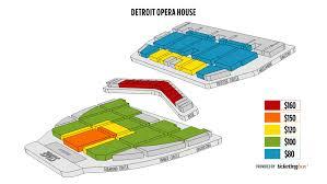 Detroit Opera House Detroit Mi Seating Chart Extraordinary Detroit Opera House Detroit Mi Seating Chart