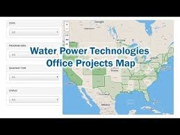 Office Map Water Power Technologies Office Projects Map Department Of Energy