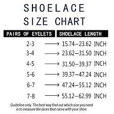 Yjrvfine 2 Pair 0 4 Inch Wide Shoelace Single Side Flat