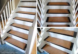 carpet on stairs. carpeted stairs to wood how redo stairs. sisal carpet treads! on