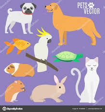 Most Popular Pets Set Of Most Popular Pets Stock Vector Fedor P E95 Gmail