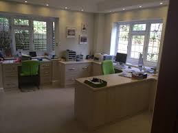 home offices fitted furniture. Home Office Desk And Bespoke Units In White Avola | Complete Fitted Bedrooms Offices Furniture