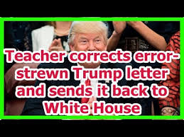 「Donald Trump's grammar, syntax errors」の画像検索結果