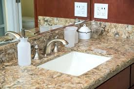 undermount bathroom sinks for granite countertops bathroom sink granite contemporary master bathroom with complex works installing
