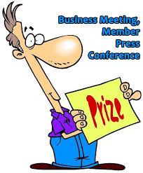 Member Press Conference July Business Meeting Monthly Door
