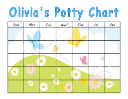 potty training chart for girls customize dry erase 🔎zoom