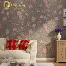 Wallpaper For Bedroom Vintage Flower Wallpaper Promotion Shop For Promotional Vintage