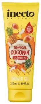 Купить <b>Гель для душа Inecto</b> Tropical coconut infusion по выгодной ...
