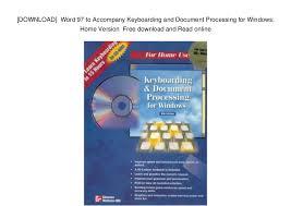 Windows Word 97 Download
