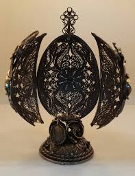 Egg Display Stands Sterling Silver Filigree Faberge Egg Display Stand How Much Do You 36