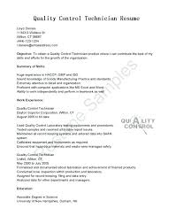 Cover Letter For Quality Control Position Cover Letter Quality