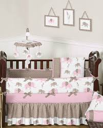 nursery beddings pink and grey elephant crib bedding canada as