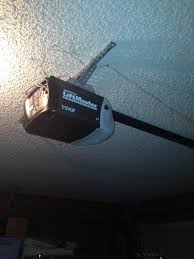 image showing a liftmaster chain drive garage door opener