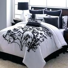 cream colored comforter black and purple bedding white orange twin xl c