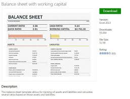 simple balance sheet example example of simple balance sheet cash flow statement simple balance