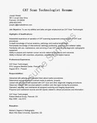 Medical Technologist Resume Template Sample Philippines Example