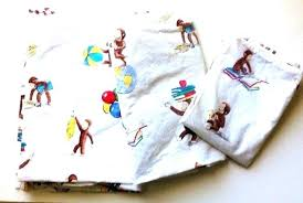 curious george bedding vintage curious fabric boutique