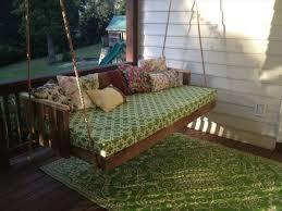hanging pallet bed