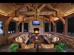 screened in porch with fireplace. RUSTIC SCREENED PORCH Screened In Porch With Fireplace
