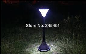 solar floor lamp wicker